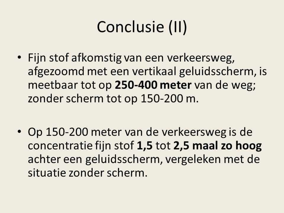 Conclusie (II)