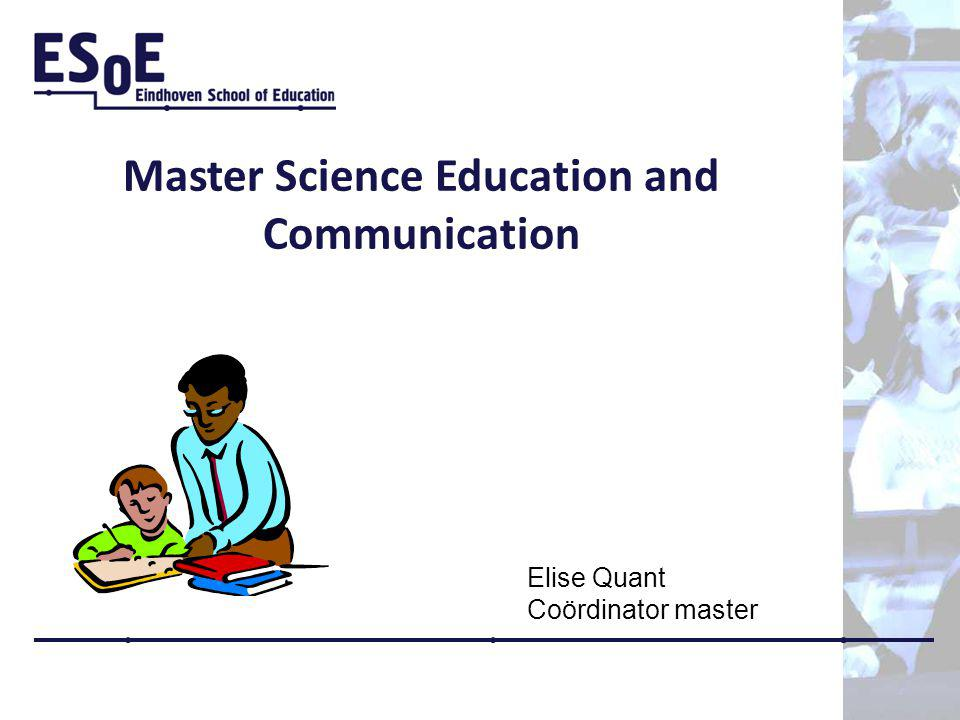 Master Science Education and Communication
