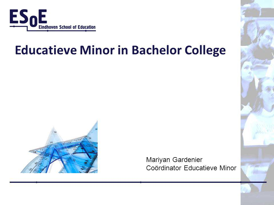 Educatieve Minor in Bachelor College