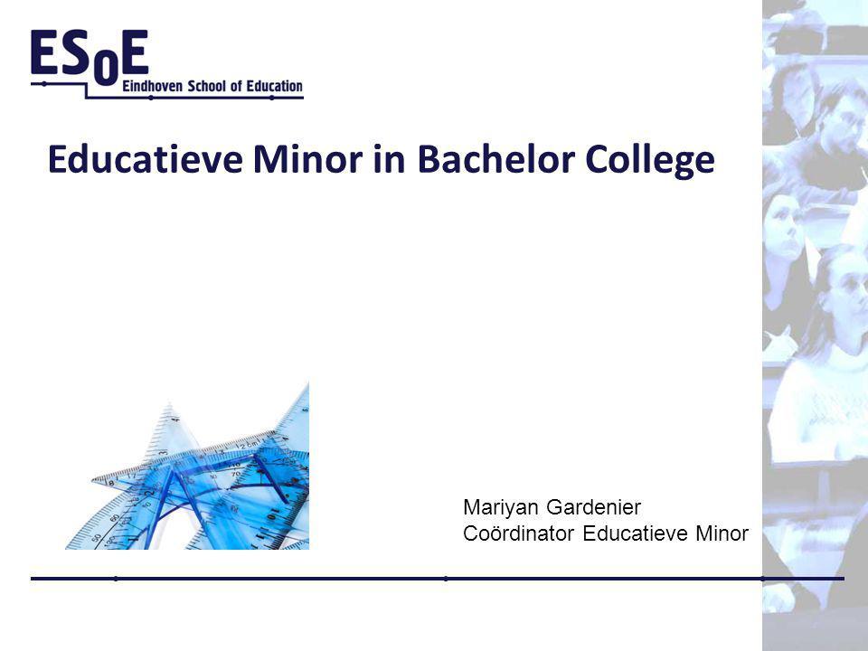 Educatieve Minor in Bachelor College