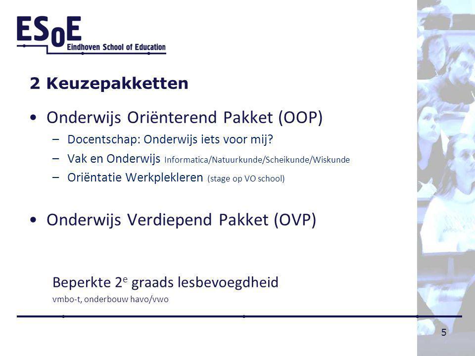 Onderwijs Oriënterend Pakket (OOP)