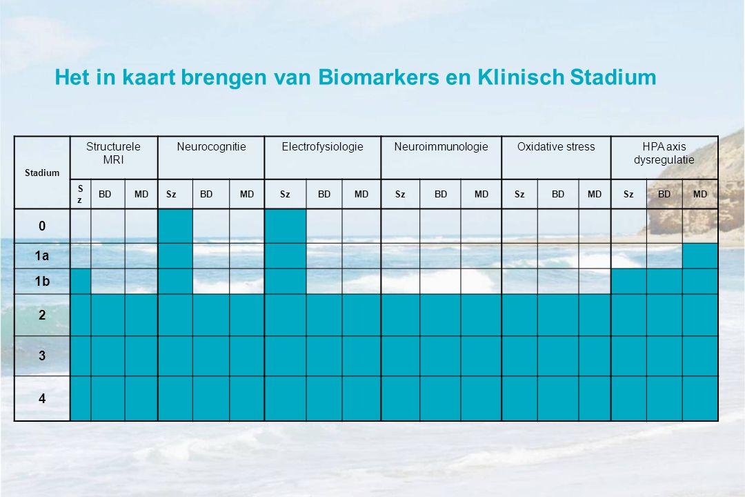 Het in kaart brengen van Biomarkers en Klinisch Stadium