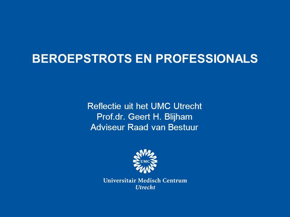BEROEPSTROTS EN PROFESSIONALS
