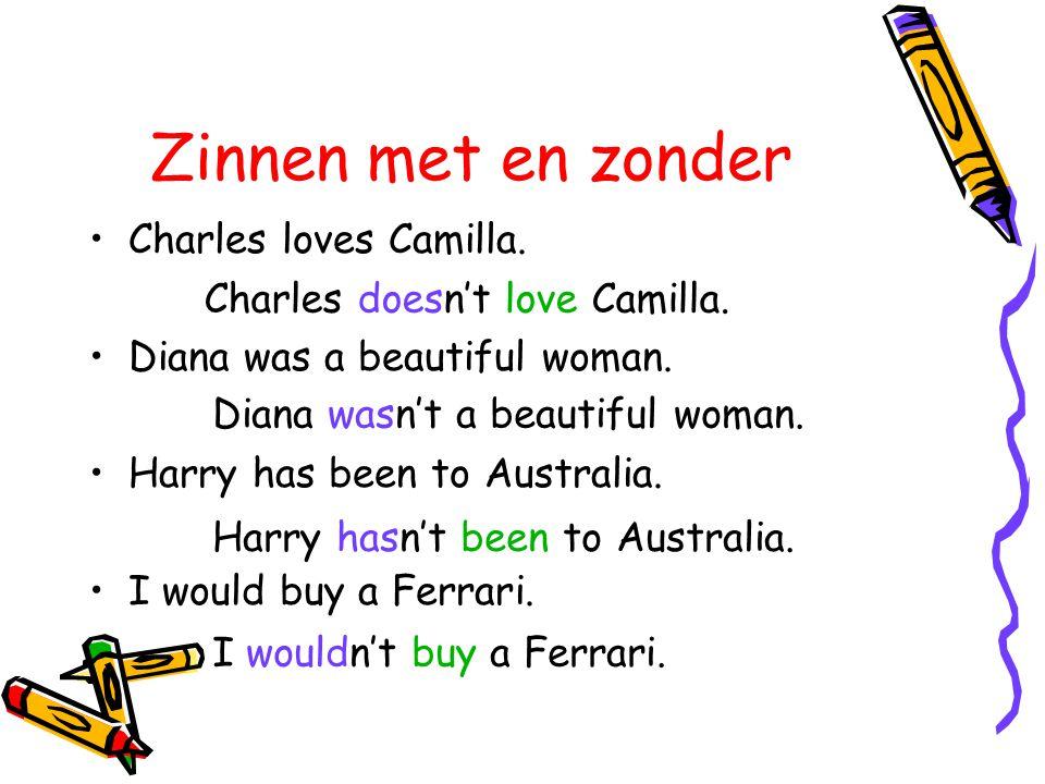 Zinnen met en zonder Charles loves Camilla.