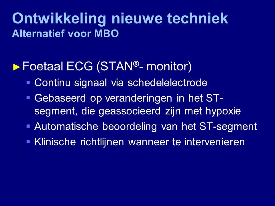 Ontwikkeling nieuwe techniek Alternatief voor MBO