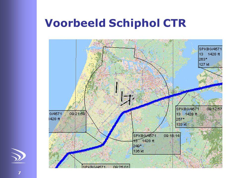 Voorbeeld Schiphol CTR
