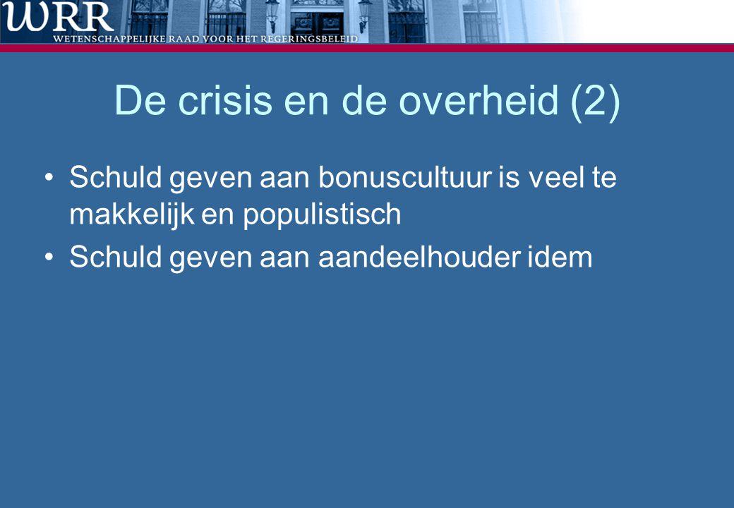 De crisis en de overheid (2)