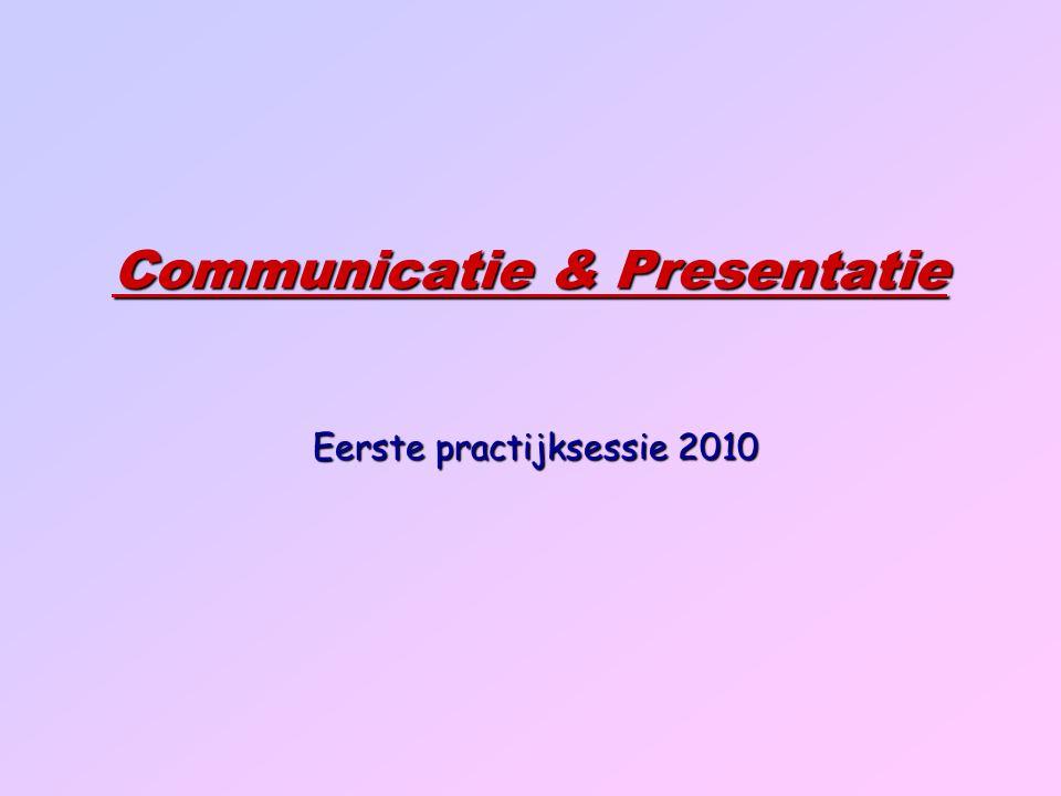 Communicatie & Presentatie