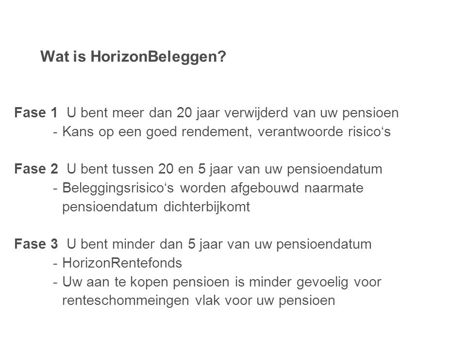 Wat is HorizonBeleggen