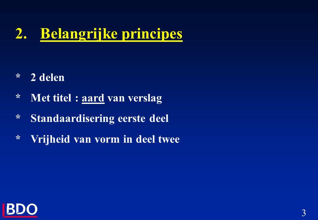 2. Belangrijke principes