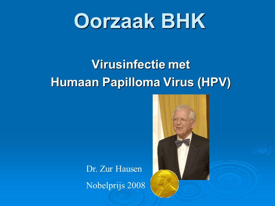 Virusinfectie met Humaan Papilloma Virus (HPV)
