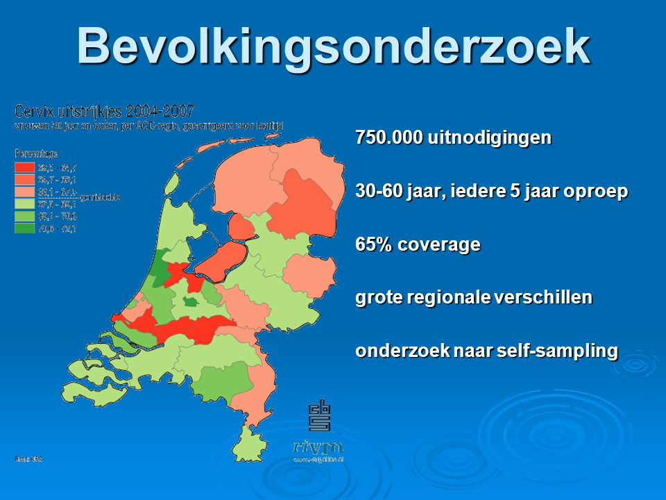 Bevolkingsonderzoek 750.000 uitnodigingen