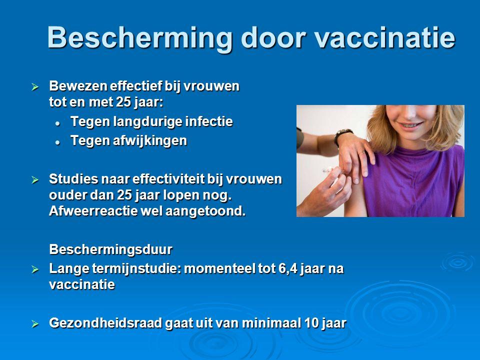 Bescherming door vaccinatie