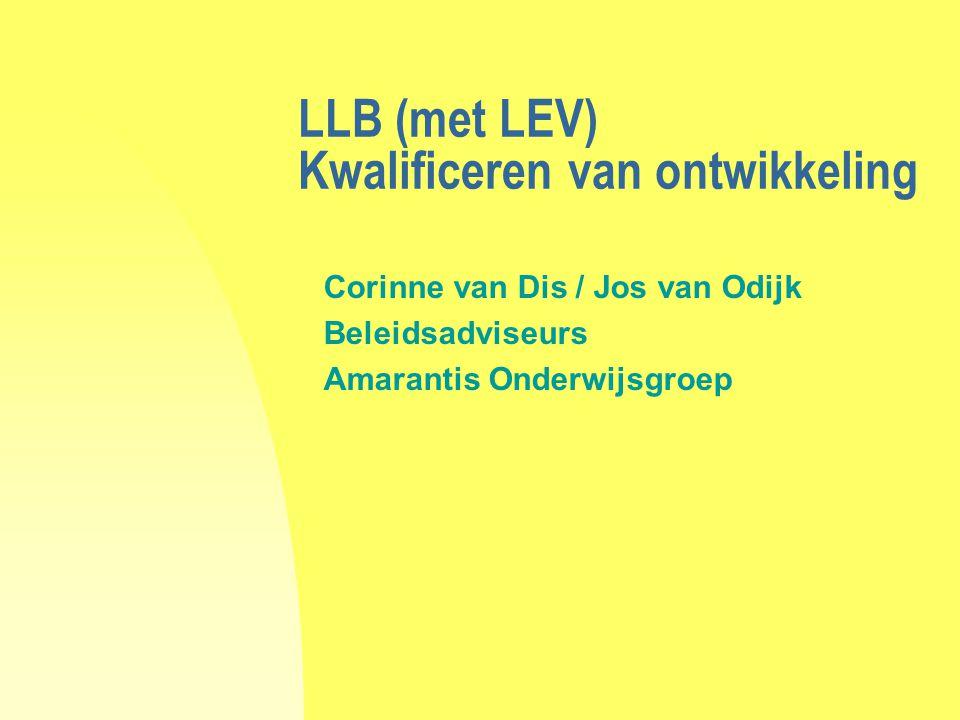 LLB (met LEV) Kwalificeren van ontwikkeling