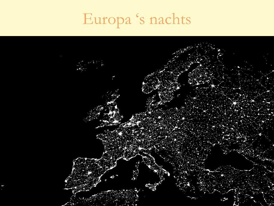 Europa 's nachts
