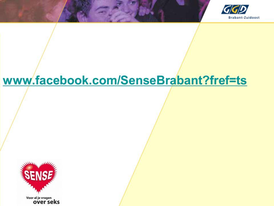 www.facebook.com/SenseBrabant fref=ts Verwijzing nodig indien > 16 dagen over tijd.