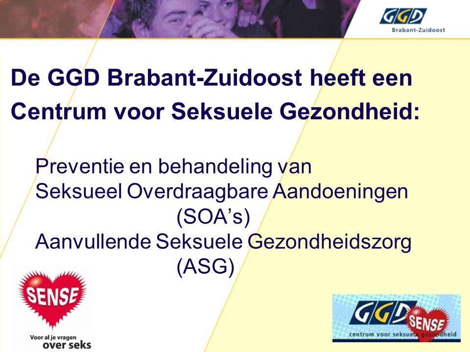 De GGD Brabant-Zuidoost heeft een Centrum voor Seksuele Gezondheid:
