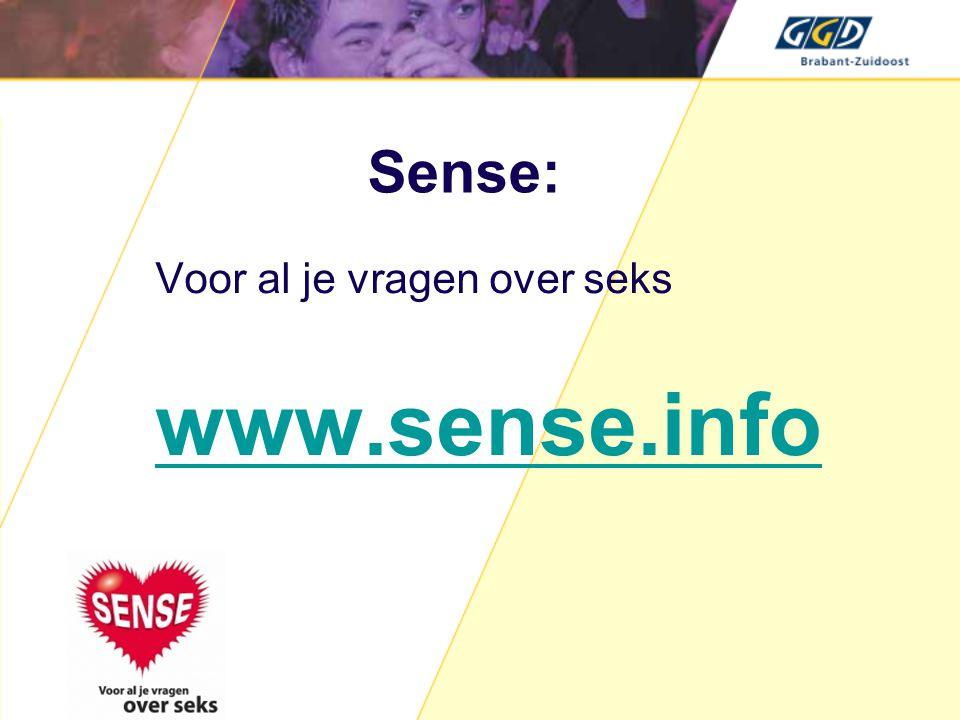 www.sense.info Sense: Voor al je vragen over seks