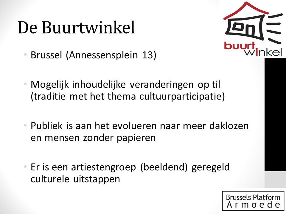 De Buurtwinkel Brussel (Annessensplein 13)