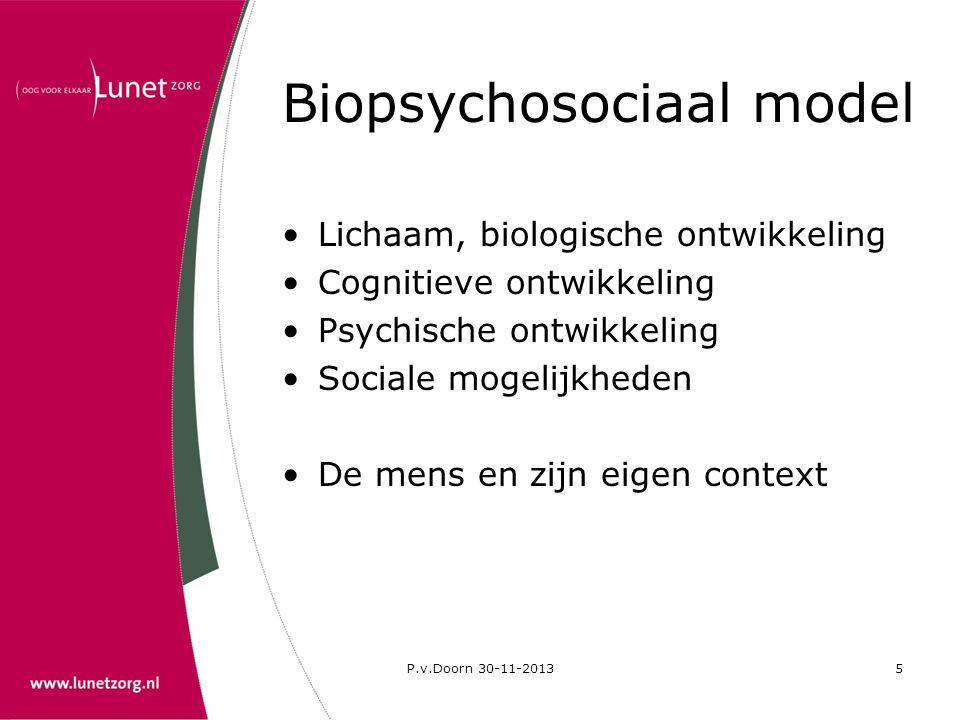 Biopsychosociaal model