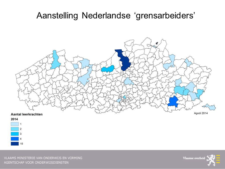 Aanstelling Nederlandse 'grensarbeiders'