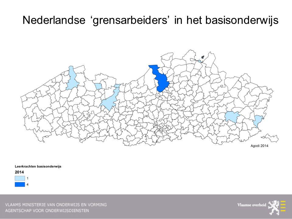 Nederlandse 'grensarbeiders' in het basisonderwijs