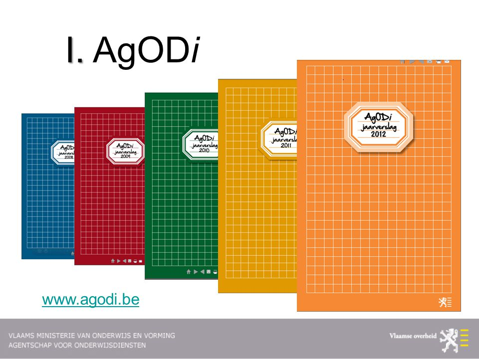 I. AgODi www.agodi.be