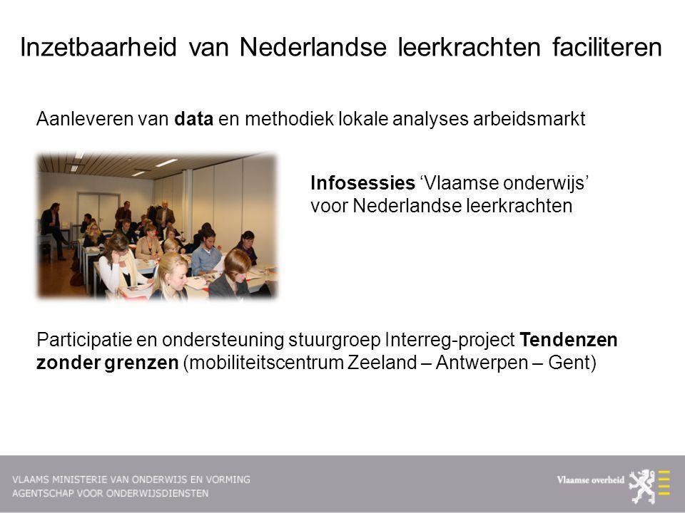 Inzetbaarheid van Nederlandse leerkrachten faciliteren