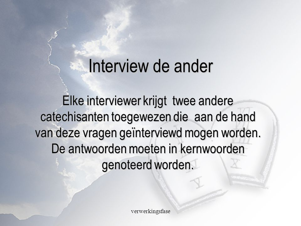 Interview de ander