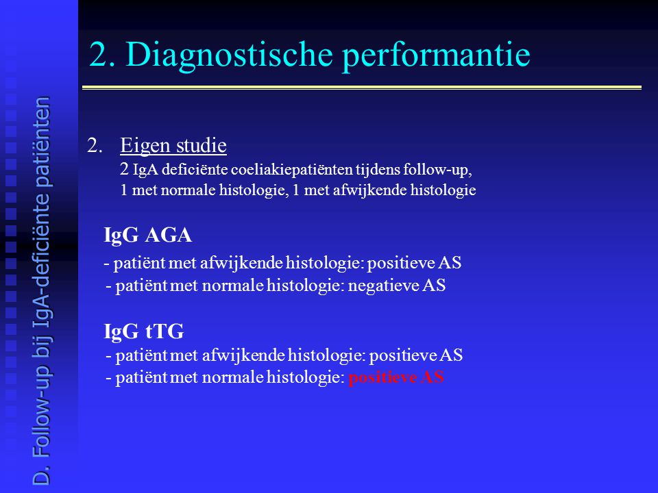 2. Diagnostische performantie