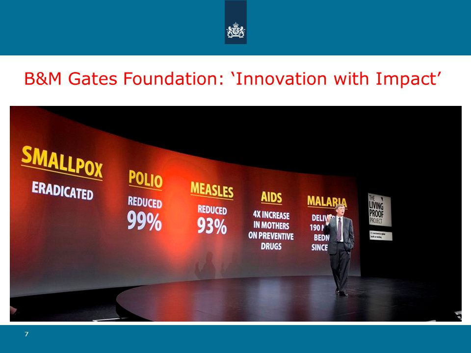 B&M Gates Foundation: 'Innovation with Impact'
