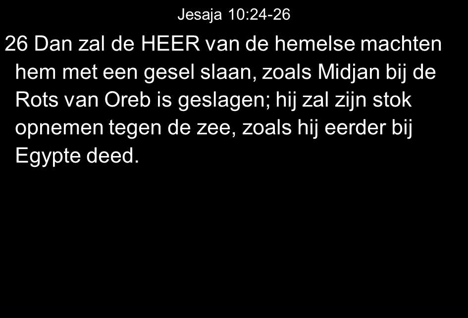 Jesaja 10:24-26