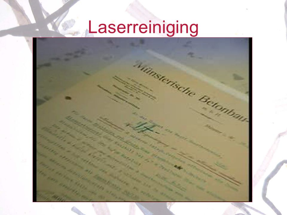Laserreiniging