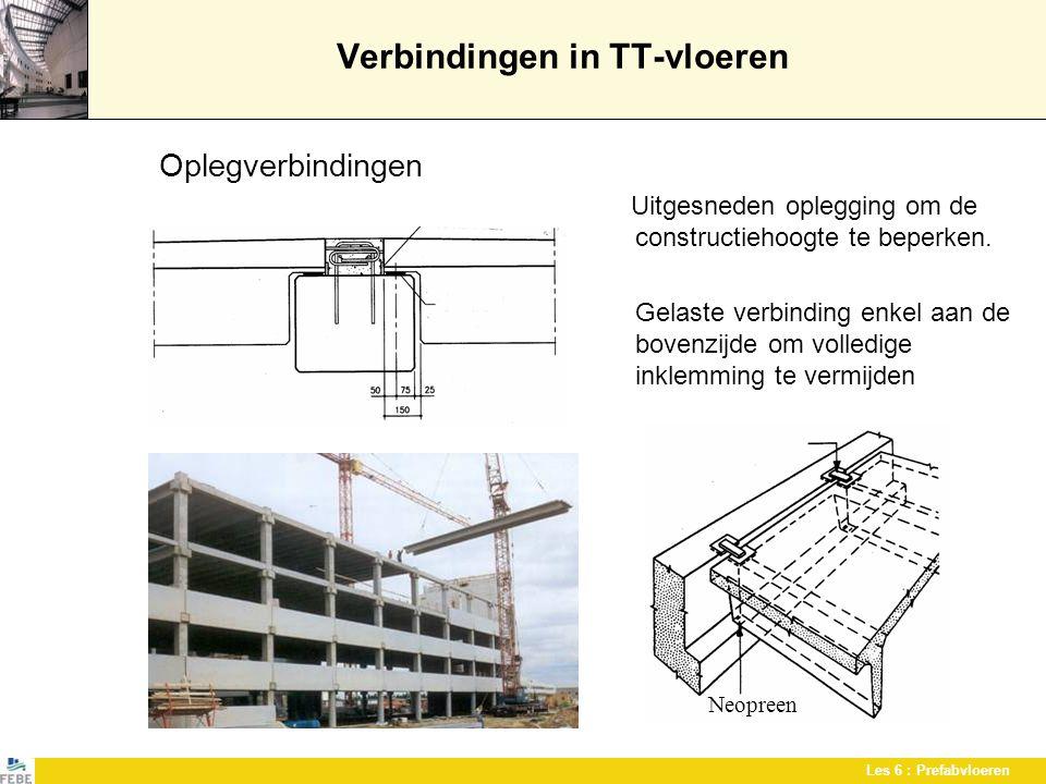 Verbindingen in TT-vloeren