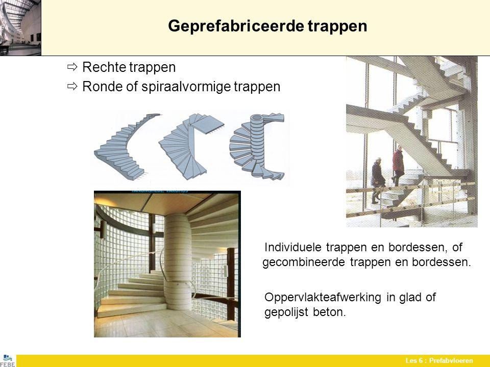 Geprefabriceerde trappen