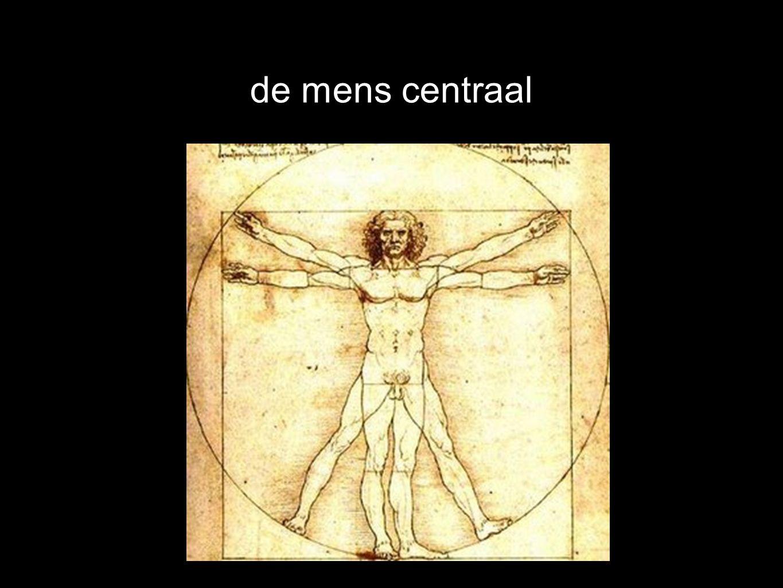 de mens centraal