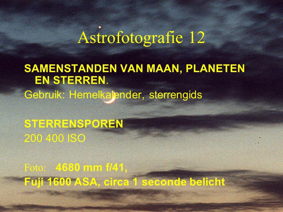 Astrofotografie 12 SAMENSTANDEN VAN MAAN, PLANETEN EN STERREN.
