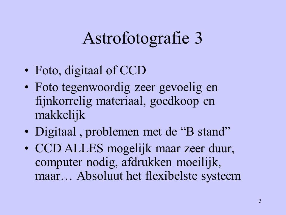 Astrofotografie 3 Foto, digitaal of CCD