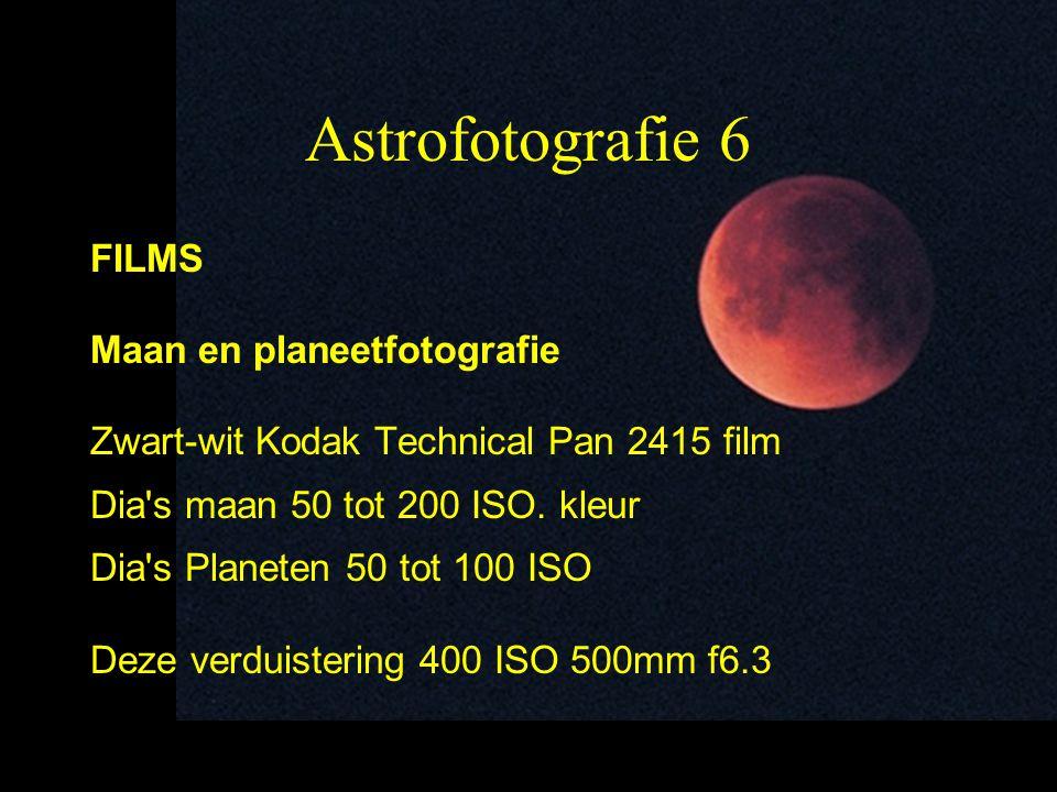 Astrofotografie 6 FILMS Maan en planeetfotografie