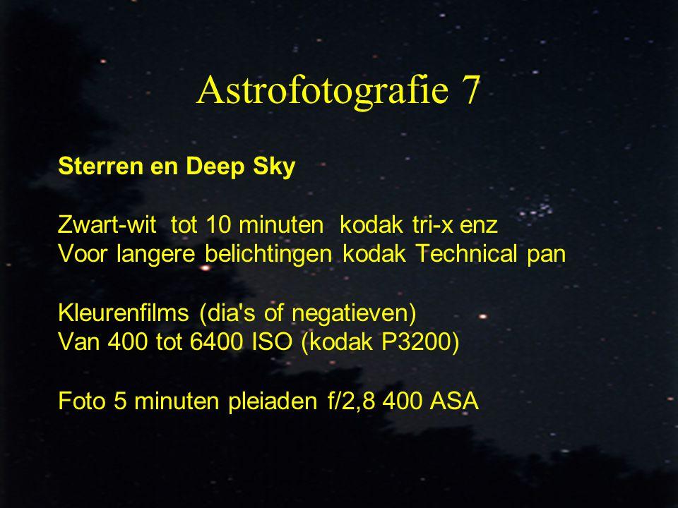Astrofotografie 7 Sterren en Deep Sky