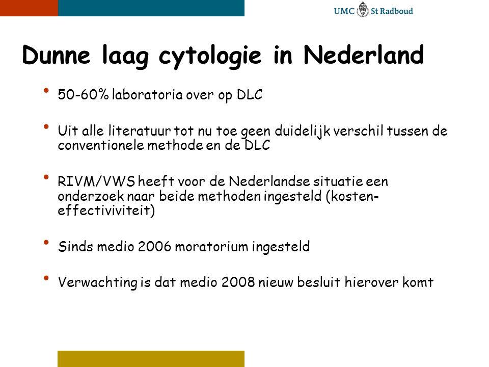 Dunne laag cytologie in Nederland