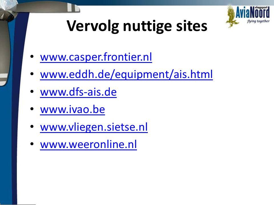 Vervolg nuttige sites www.casper.frontier.nl