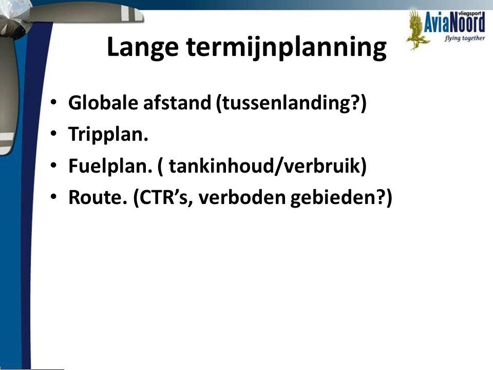 Lange termijnplanning