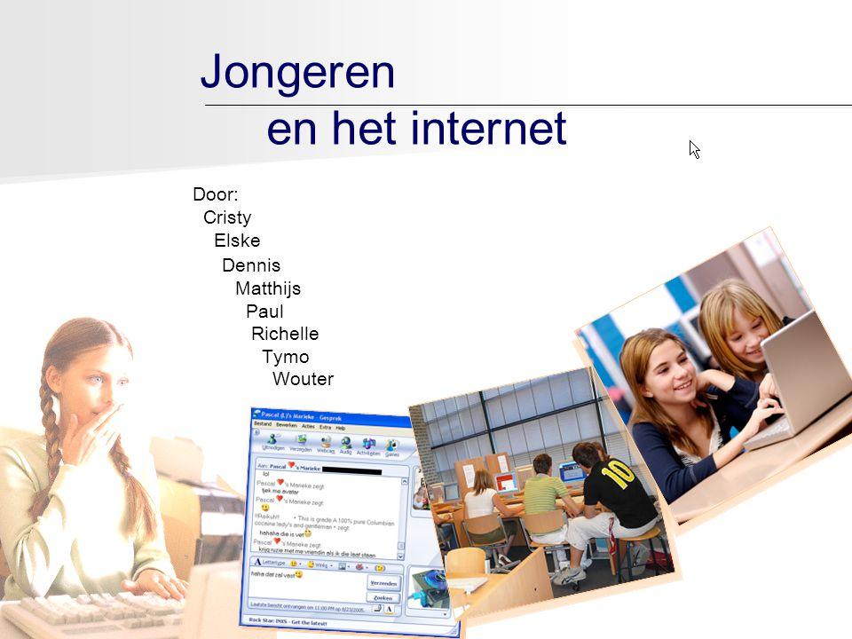 Jongeren en het internet