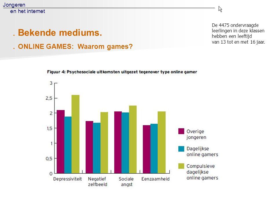 . ONLINE GAMES: Waarom games