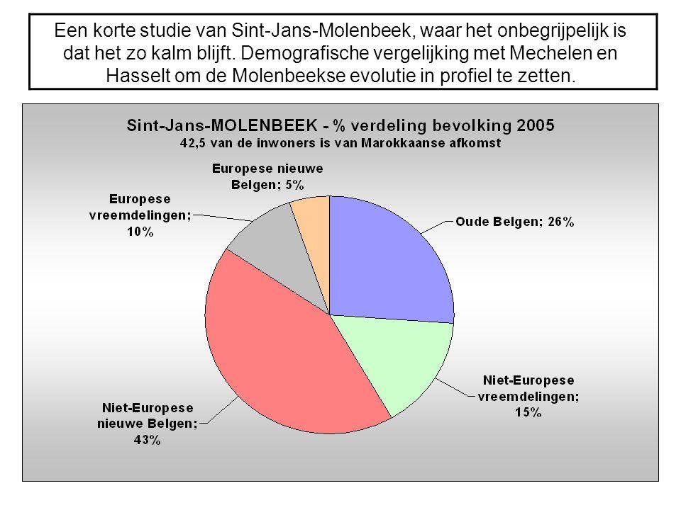 Een korte studie van Sint-Jans-Molenbeek, waar het onbegrijpelijk is dat het zo kalm blijft.