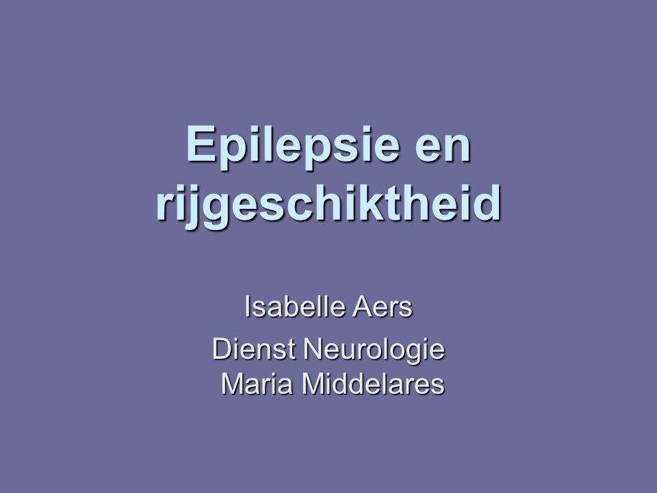Epilepsie en rijgeschiktheid