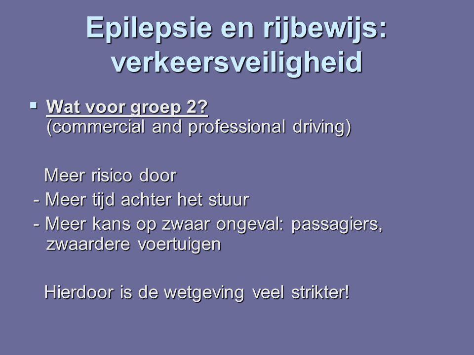 Epilepsie en rijbewijs: verkeersveiligheid