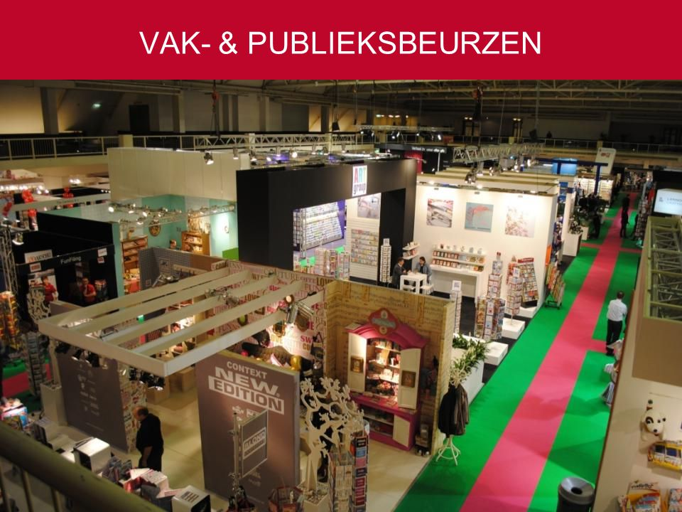 VAK- & PUBLIEKSBEURZEN