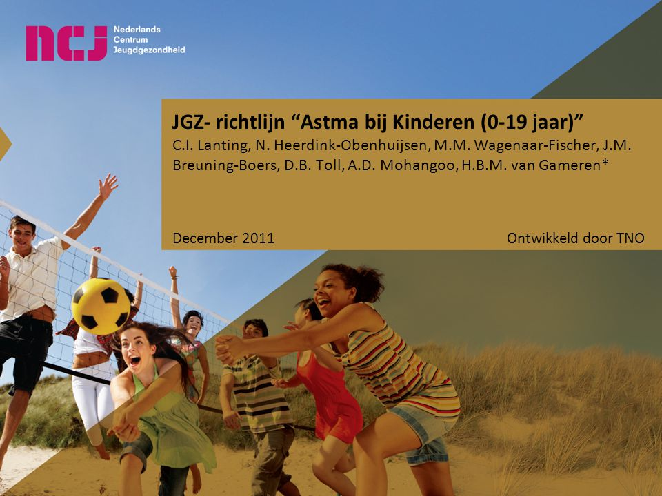 JGZ- richtlijn Astma bij Kinderen (0-19 jaar)